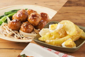 キットオイシックス鶏団子とポテト卵