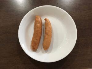 ウインナー大きさ比較
