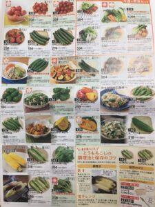 生活クラブ カタログ 野菜