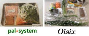 パルシステムとオイシックス ミールキット比較